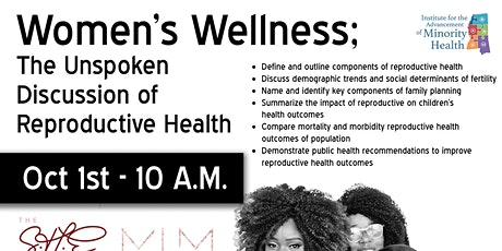 Women's Wellness; The Unspoken Discussion of Reproductive Health tickets
