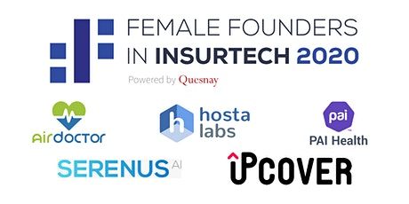 Quesnay's Female Founders in InsurTech 2020: Final Pitch Event tickets