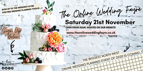 The Online Virtual Wedding Fayre - featuring Wedding Planning Tools! tickets