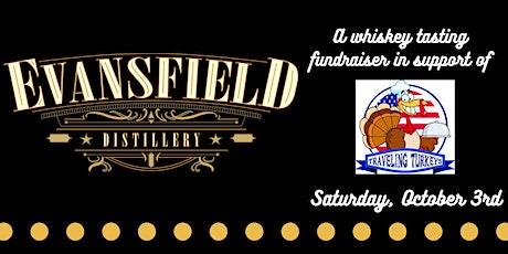 Evansfield Distillery + Traveling Turkeys Whiskey Tasting tickets