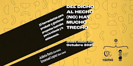 DEL DICHO AL HECHO, (NO) HAY MUCHO TRECHO entradas
