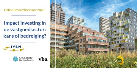 Researchseminar: Impact investing in de vastgoedsector: kans of bedreiging? tickets
