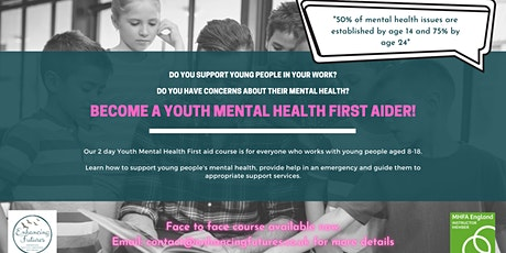 Youth Mental Health First Aid - 2 Day Course tickets