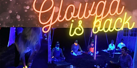 Blacklight outdoor Glowga round 3! Glow Yoga with Melanie tickets