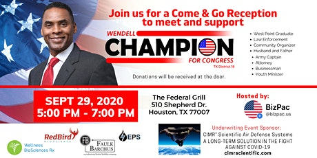 Meet, Greet and Support Congressional Candidate Wendell Champion tickets