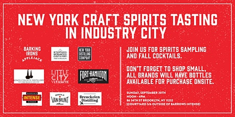 Industry City Brooklyn Spirits Tasting tickets