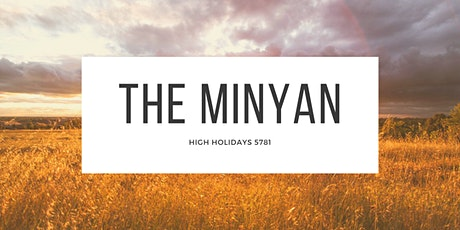 The Minyan 5781 tickets