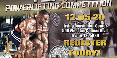 BIG TEX GYM POWER LIFTING & STRONGMAN NATIONAL COMPETITION tickets