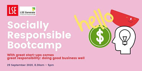LSE Generate – Socially Responsible Bootcamp tickets