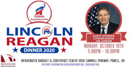 2020 Lincoln Reagan Dinner - Hosted by the Dublin Republican Club tickets