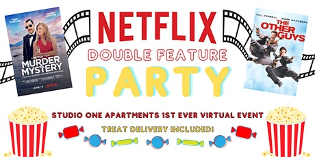 Netflix Double Feature Party! Featuring Murder Mystery & The Other Guys. tickets
