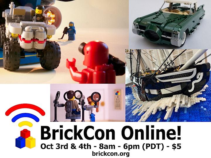 BrickCon Exhibition - Online - October 3rd & 4th image