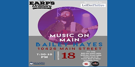 Music on Main!  Friday Sept. 18, 2020 tickets