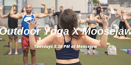 Outdoor Yoga X Moosejaw tickets