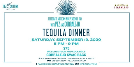 Celebrate Mexican Independence Day with Pez Cantina and Corralejo tickets