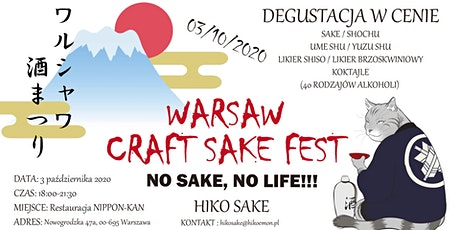 Warsaw Craft Sake Fest tickets