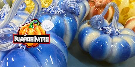 Gent Glas Pumpkin Patch, Jaarlijks Fundraiser -gratis glasblaasdemonstratie tickets