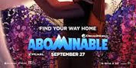 ABOMINABLE at BDI (FINAL WEEKEND Fri & Sat 11/6-7) tickets
