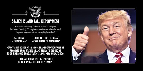 Staten Island Fall Deployment tickets