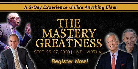 Business Success Online Event: Mastery of Greatness with Raymond Aaron tickets