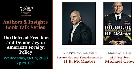 Authors & Insights: Former National Security Advisor H.R. McMaster tickets