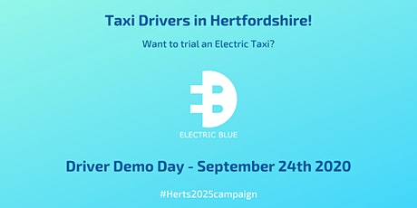 Herts 2025 Taxi Driver Demo Day tickets
