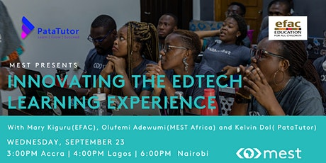 #MEST Presents: Innovating the EdTech Learning Experience tickets