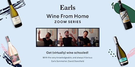 Earls Wine From Home Zoom Series tickets