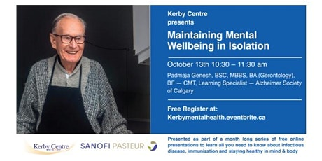 Maintaining Your Mental Wellbeing Amid Social Isolation tickets