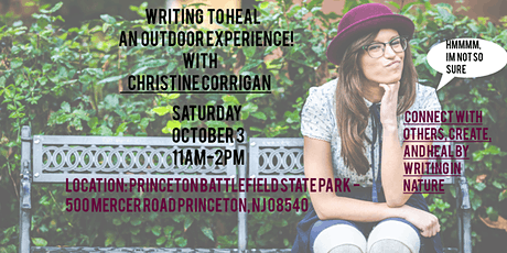 Writing to Heal, An Outdoor Experience tickets