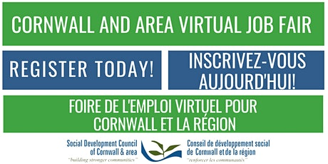 Cornwall and Area Virtual Job Fair tickets
