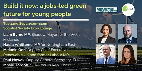 Build it now: a jobs-led green future for young people tickets