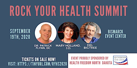 Rock Your Health Summit 2020 - North Dakota tickets