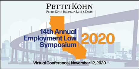 Virtual Event: Pettit Kohn Ingrassia Lutz & Dolin Employment Law Symposium tickets