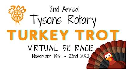 Sponsor the 2nd Annual Turkey Trot Virtual 5K Race! tickets