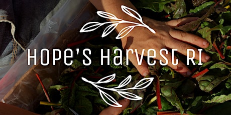 Gleaning Trip with Hope's Harvest RI Friday, September 25th 10 - 1PM tickets