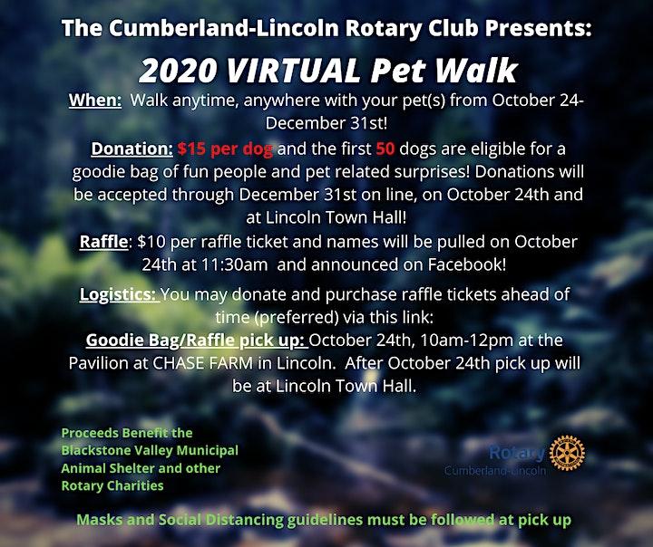 2020 Cumberland-Lincoln Rotary VIRTUAL Pet Walk image