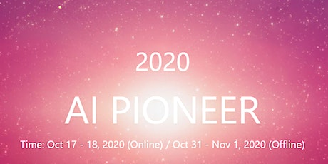 AI Pioneer 2020 Conference Tickets