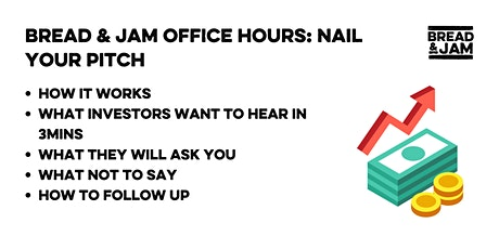 Office Hours: How to nail your investor pitch tickets