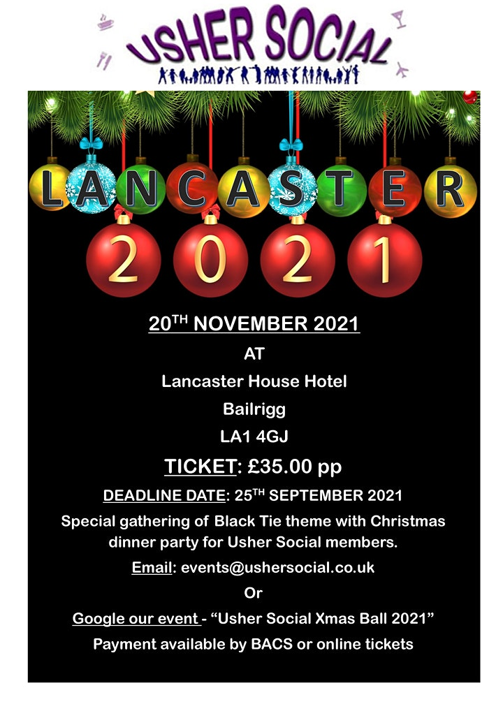 Christmas Ball 2021 - Lancaster image