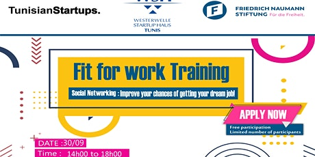 Fit for Work workshop: Social Networking for Career Development billets