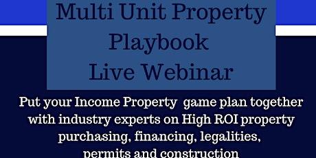 Multi Unit Property Playbook tickets