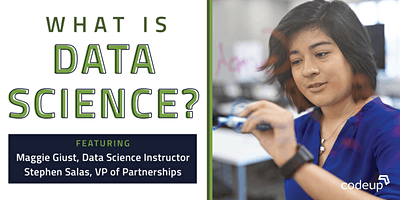 Codeup | What is Data Science Lunch