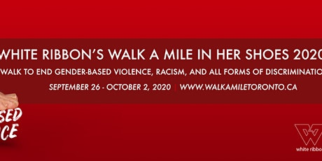 White Ribbon's Walk A Mile in Her Shoes 2020 tickets