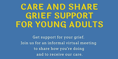 Grief Care and Share for Young Adults tickets