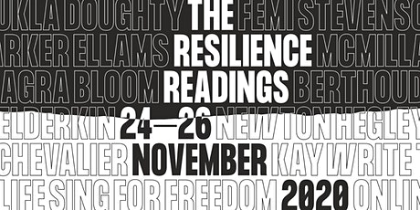 The Resilience Readings: A star-studded virtual literary festival tickets