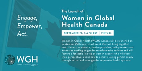 Women in Global Health Canada Chapter Launch tickets