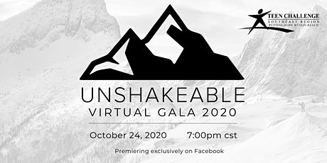 Unshakeable Teen Challenge Dixon Virtual Gala tickets