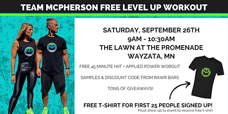 Team McPherson FREE Level Up Workout tickets