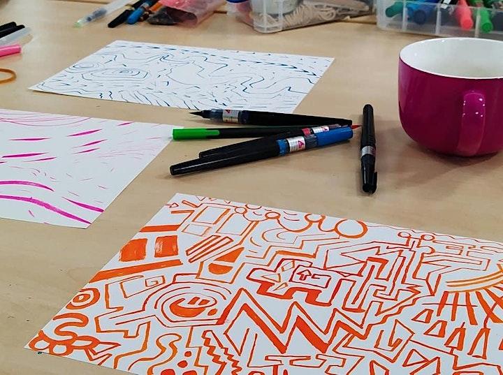 De-stress drawing group image